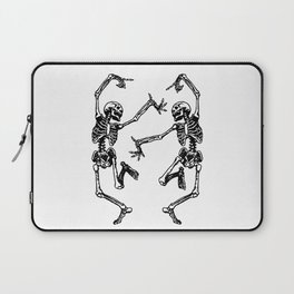 Duo Dancing Skeleton Laptop Sleeve