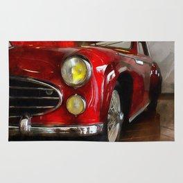 Delahaye 235 - Automobile By Liane Wright Rug