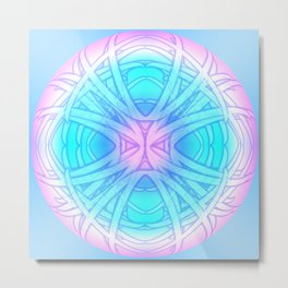 Dream Orb Mandala Metal Print