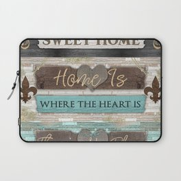 Home Sweet Home Series Laptop Sleeve
