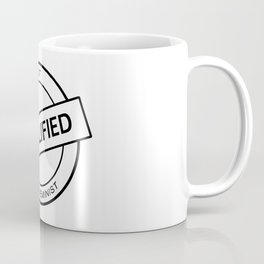 Qualified Feminist (black) Coffee Mug