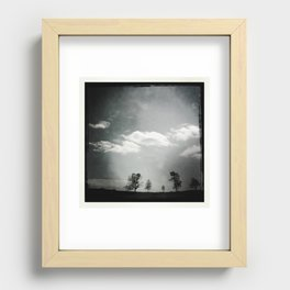 Mother's Day Skyline Recessed Framed Print