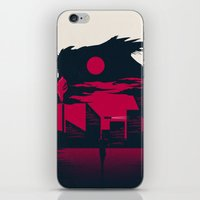 blade runner iPhone & iPod Skins featuring Blade Runner by Inno Theme