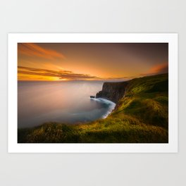 Cliffs of Moher Art Print