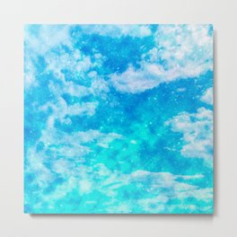 Sweet Blue Dreams Metal Print