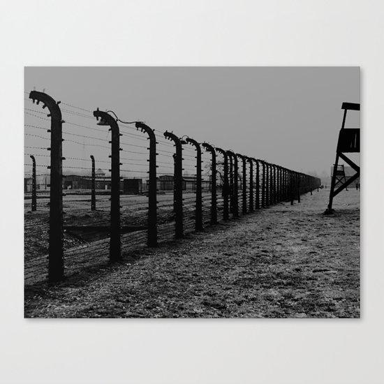 Auschwitz 05 Canvas Print