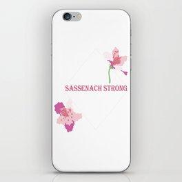 Sassenach Strong iPhone Skin