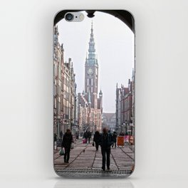 Gdansk iPhone Skin