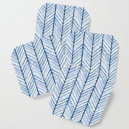 Shibori Herringbone Pattern Coaster
