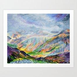 Llanberis Path Art Print