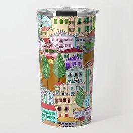 Symi, Greece Travel Mug
