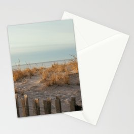 Winter Sunrise in Charlestown, RI Stationery Cards