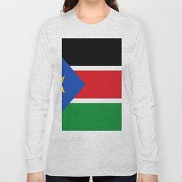 Flag of south sudan Long Sleeve T-shirt
