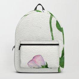 Green Weaving Backpack