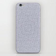 Bardarbunga Silver iPhone & iPod Skin