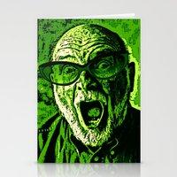 scream Stationery Cards featuring SCREAM! by Silvio Ledbetter