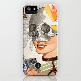Artificial smiles iPhone Case