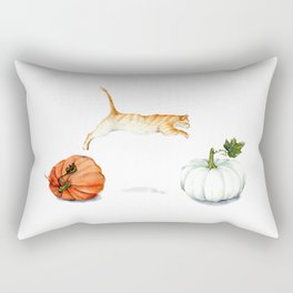 Fall Acrobatics Rectangular Pillow