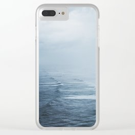 Storms over the Pacific Ocean Clear iPhone Case