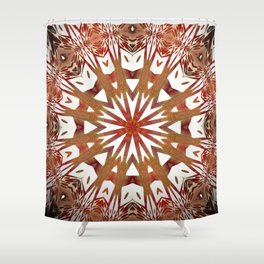 Kaleid468 Shower Curtain