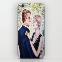 gatsby iPhone & iPod Skins featuring GATSBY - DAISY by Sam Parigi