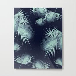 Fan Palm Leaves Paradise #9 #tropical #decor #art #society6 Metal Print