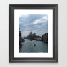 Grand canal Venice Framed Art Print