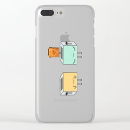 I loaf you! Clear iPhone Case