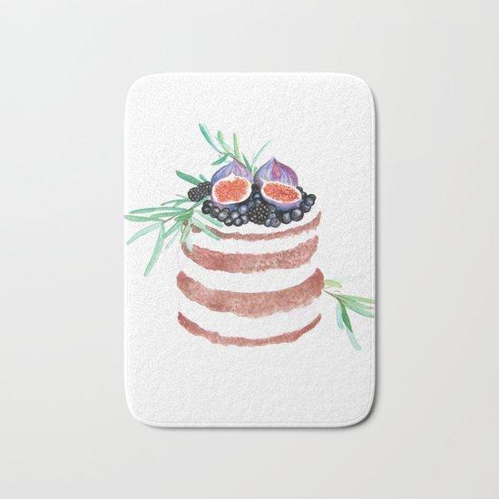 Fig Cake Bath Mat