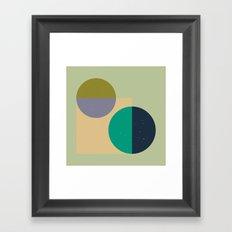 Rounds Framed Art Print