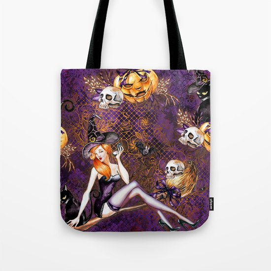 Halloween Witch #1 Tote Bag
