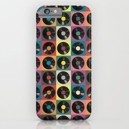 Vinyl Record iPhone Case