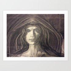 Mother of Midnight Art Print