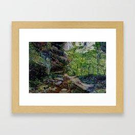 The Grotto Framed Art Print