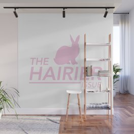 The Hairier Issue Wall Mural