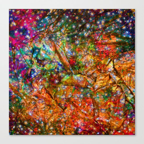 gift wrapping paper Canvas Print