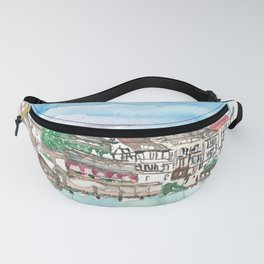 Strasbourg Alsace France Petite France Ill Waterfront Fanny Pack