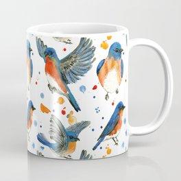 Bluebird Study Coffee Mug