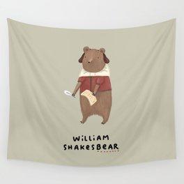 William Shakesbear Wall Tapestry
