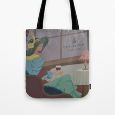 Cafe de Paris Tote Bag