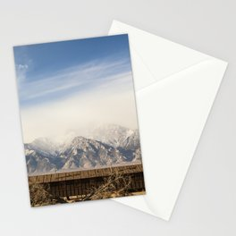 Manzanar Internment Camp, Highway 395, Independence, CA Stationery Cards