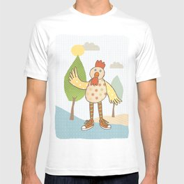 sunny rooster T-shirt