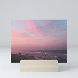 cotton candy sky Mini Art Print