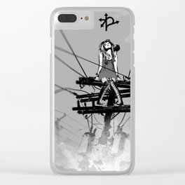 CROSSROAD GUARDIAN - GMB CHOMICHUK Clear iPhone Case
