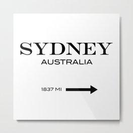 Sydney - Australia Metal Print