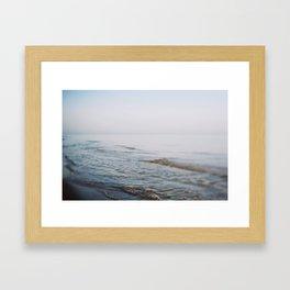 Depth Of Breath Framed Art Print