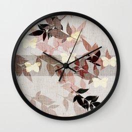 Oriental atmosphere Wall Clock
