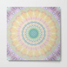 Mandala pastel no. 3  Metal Print