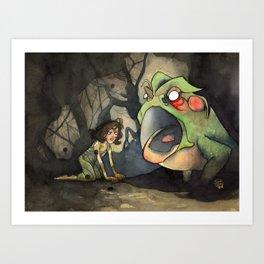 Pan's Labyrinth - The Toad Art Print