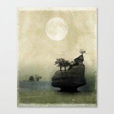 Far Away Fantasy Landscape Canvas Print
